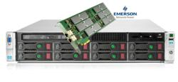 HP DL380p and Emerson PCIE-8120